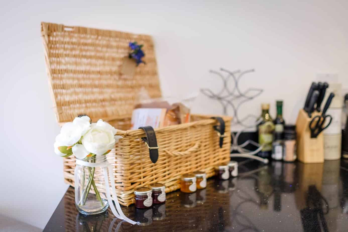 Tailored Stays Flamsteed Duplex Apartment cambridge comes with a complimentary welcome hamper