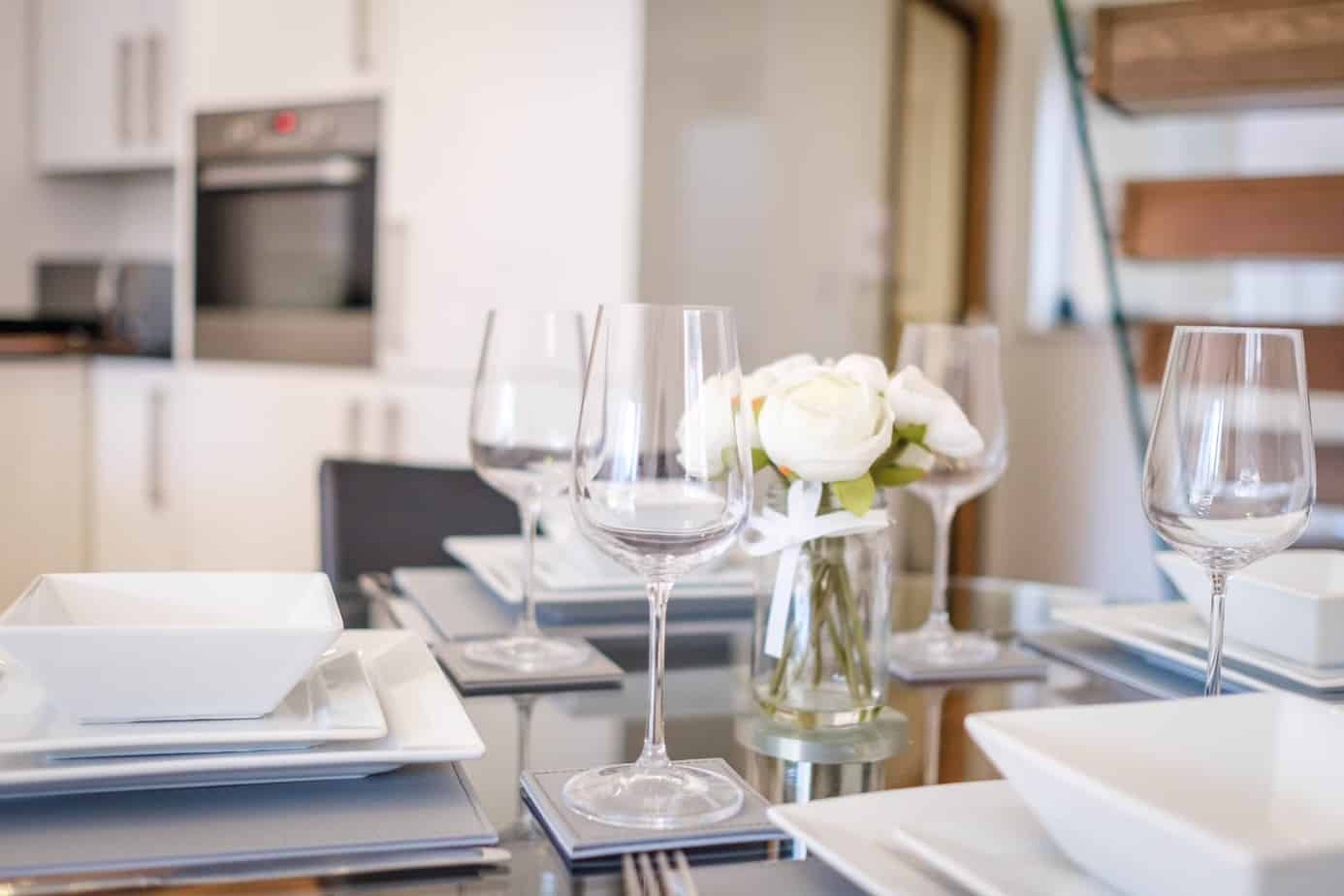 Tailored Stays Flamsteed serviced apartment dining area