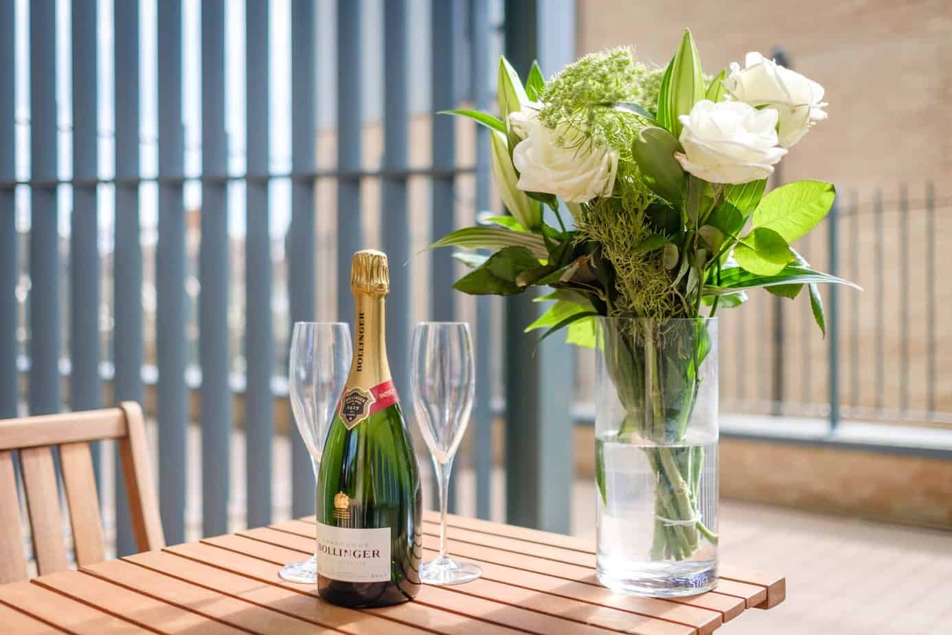 Tailored Stays Flamsteed serviced apartment balcony